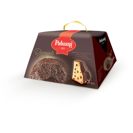 Torta Diamante Nero Paluani 750g - DIAMANTE